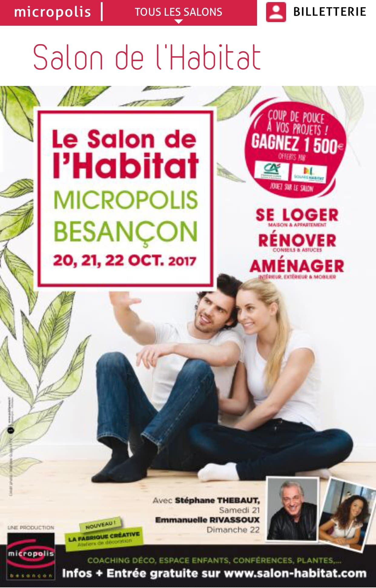 Salon de l habitat besan on 2017 anais expertises - Salon de l habitat lyon ...